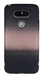 LG G5 Rose Gold Noktalı Ultra İnce Silikon Kılıf
