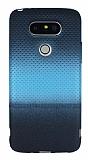 LG G5 Mavi Noktalı Ultra İnce Silikon Kılıf