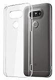 LG G5 Şeffaf Kristal Kılıf