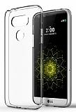 LG G5 Tam Kenar Koruma Şeffaf Rubber Kılıf
