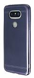 LG G5 Specked Dark Silver Silikon Kılıf