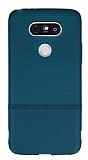 LG G5 Ultra İnce Noktalı Yeşil Silikon Kılıf