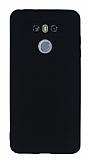 LG G6 Mat Siyah Silikon Kılıf