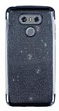 LG G6 Simli Siyah Silikon Kılıf