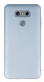 LG G6 Tam Kenar Koruma Silver Rubber Kılıf