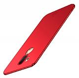 LG G7 ThinQ Mat Kırmızı Silikon Kılıf