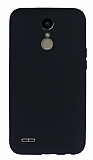 LG K10 2017 Mat Siyah Silikon Kılıf