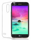 LG K10 2017 Şeffaf Kristal Kılıf