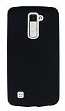 LG K10 Mat Siyah Silikon Kılıf