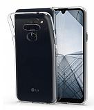 LG K40S Ultra İnce Şeffaf Silikon Kılıf