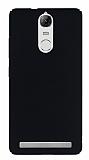 Lenovo Vibe K5 Note Tam Kenar Koruma Siyah Rubber Kılıf
