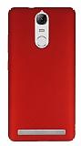 Lenovo Vibe K5 Note Tam Kenar Koruma Kırmızı Rubber Kılıf