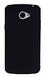 LG K5 Tam Kenar Koruma Siyah Rubber Kılıf