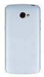 LG K5 Tam Kenar Koruma Silver Rubber Kılıf