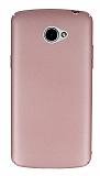 LG K5 Tam Kenar Koruma Rose Gold Rubber Kılıf