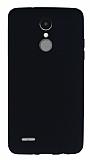 LG K8 2017 Mat Siyah Silikon Kılıf