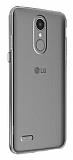LG K8 2017 Şeffaf Kristal Kılıf