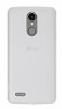 LG K8 2017 Ultra İnce Şeffaf Silikon Kılıf