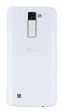 LG K8 Şeffaf Kristal Kılıf