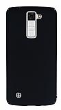 LG K8 Tam Kenar Koruma Siyah Rubber Kılıf