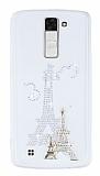 LG K8 Ta�l� Paris �effaf Silikon K�l�f