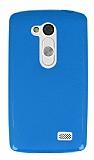 LG L Fino Mavi Silikon Kılıf