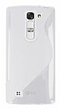 LG G4c Desenli Şeffaf Silikon Kılıf