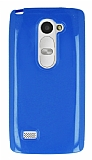 LG Leon Mavi Silikon Kılıf