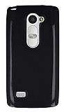 LG Leon Siyah Silikon Kılıf