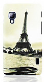 LG Optimus L5 2 Paris Sert Mat Rubber Kılıf