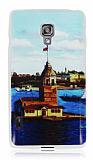 LG Optimus L7 2 K�z Kulesi Ultra �nce Silikon K�l�f