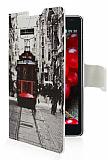LG Optimus L7 2 Taksim C�zdanl� Yan Kapakl� K�l�f