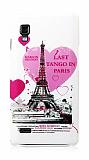 LG Optimus L9 P760 Tango In Paris Sert Parlak Rubber K�l�f