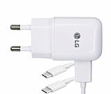 LG Orjinal Micro USB Beyaz Hızlı Şarj Aleti