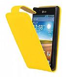 LG P700 Optimus L7 Sar� Kapakl� Deri K�l�f