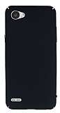 LG Q6 Tam Kenar Koruma Siyah Rubber Kılıf