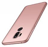 LG Q7 / Q7 Plus Rose Gold Mat Silikon Kılıf