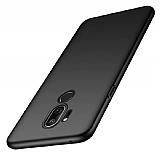 LG Q7 / Q7 Plus Siyah Mat Silikon Kılıf