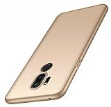 LG Q7 / Q7 Plus Gold Mat Silikon Kılıf