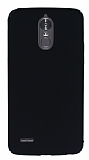 LG Stylus 3 Tam Kenar Koruma Siyah Rubber Kılıf