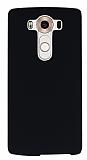 LG V10 Siyah Sert Rubber Kılıf