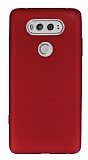 LG V20 Mat Kırmızı Silikon Kılıf