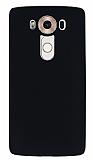 LG V10 Mat Siyah Silikon Kılıf