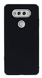 LG V20 Tam Kenar Koruma Siyah Rubber Kılıf