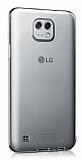 LG X Cam Şeffaf Kristal Kılıf