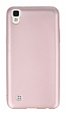 LG X power Mat Rose Gold Silikon Kılıf