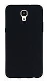 LG X Screen Mat Siyah Silikon Kılıf