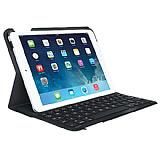 Logitech Folio iPad Air Klavyeli Standl� Siyah Deri K�l�f