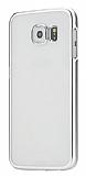 MeePhone Samsung Galaxy S6 Edge Plus Silver Kenarl� Kristal K�l�f
