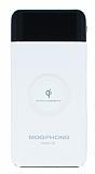 Meephone Kablosuz 10000 mAh Powerbank Beyaz Yedek Batarya